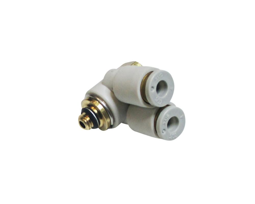 Стоматологическая запчасть - Фитинг для подключения воздуха КB2ZО4-М5 10 для аппарата для смазки наконечников BTY-700