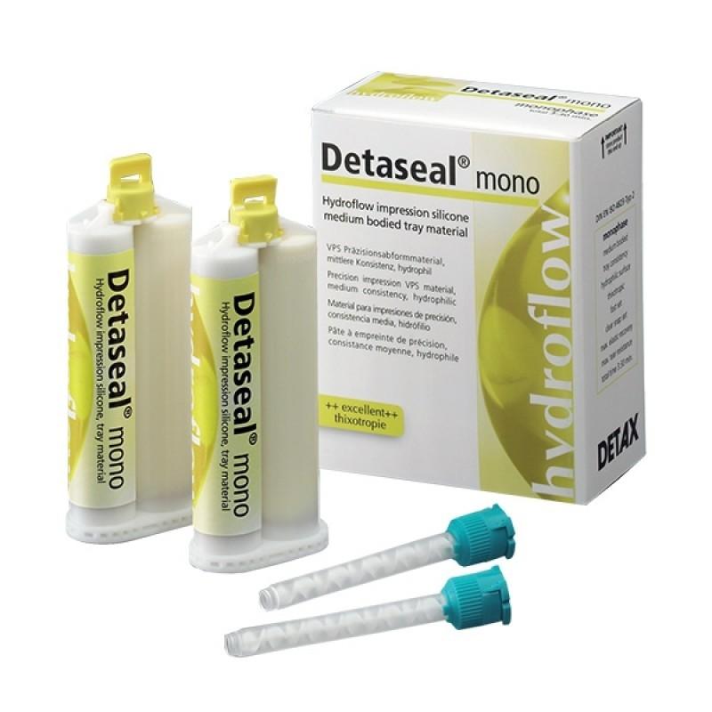 Силикон монофазный для оттисков Detaseal hydroflow mono (2 шт. по 50 мл)