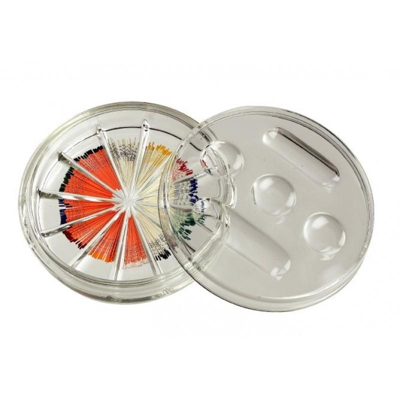Контейнер стеклянный для эндодонтических инструментов Glass Endo Organizer