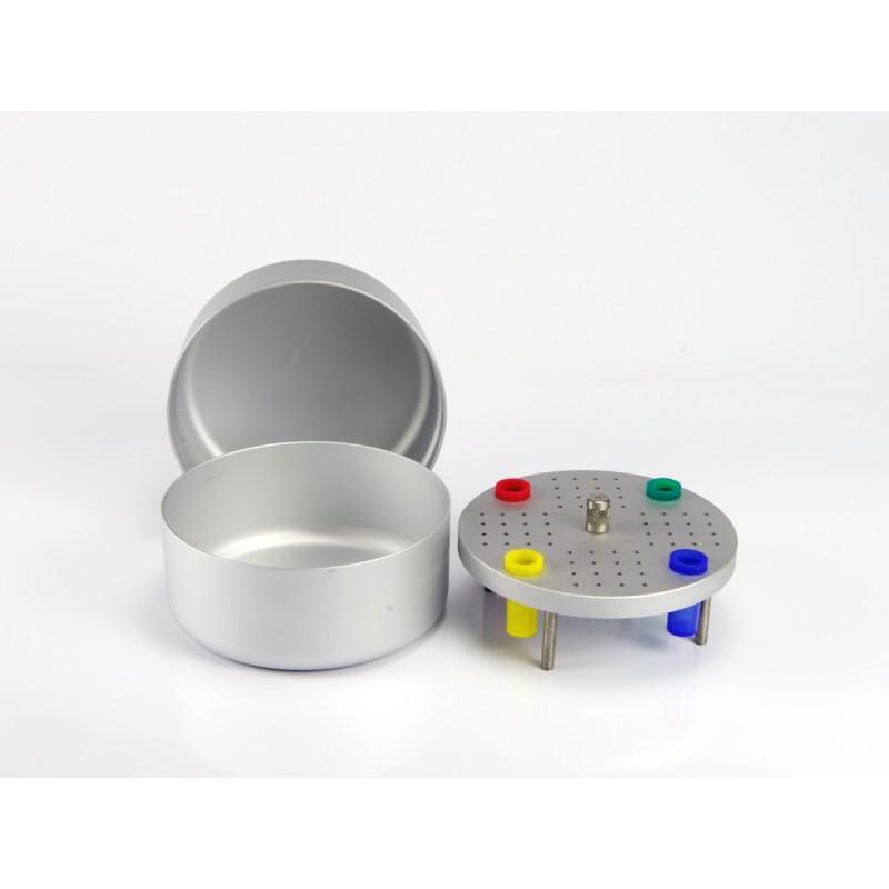 Эндо-бокс средний круглый автоклавируемый Endo box Medium Round