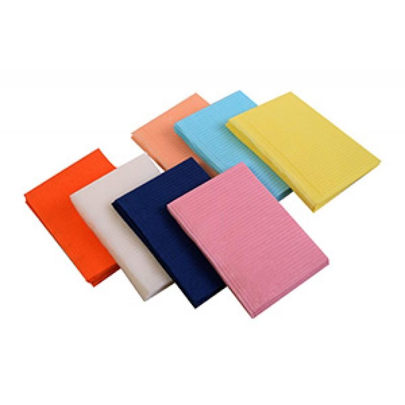 Салфетки процедурные (нагрудники) для пациентов трехслойные (500 шт.)