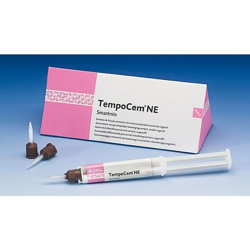 Цемент для временной фиксации без эвгенола TempoCem NE-Smartmix (2 шприца по 11 г, насадки)