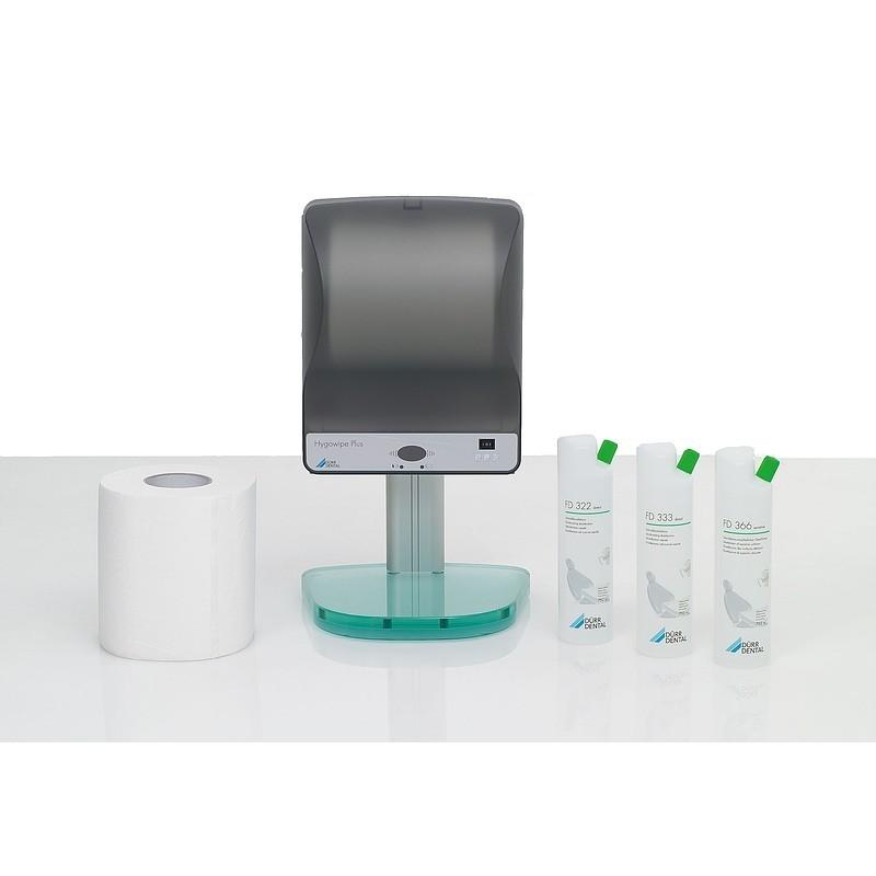 Диспенсер дезинфицирующих салфеток сенсорный Hygowipe Plus (набор)