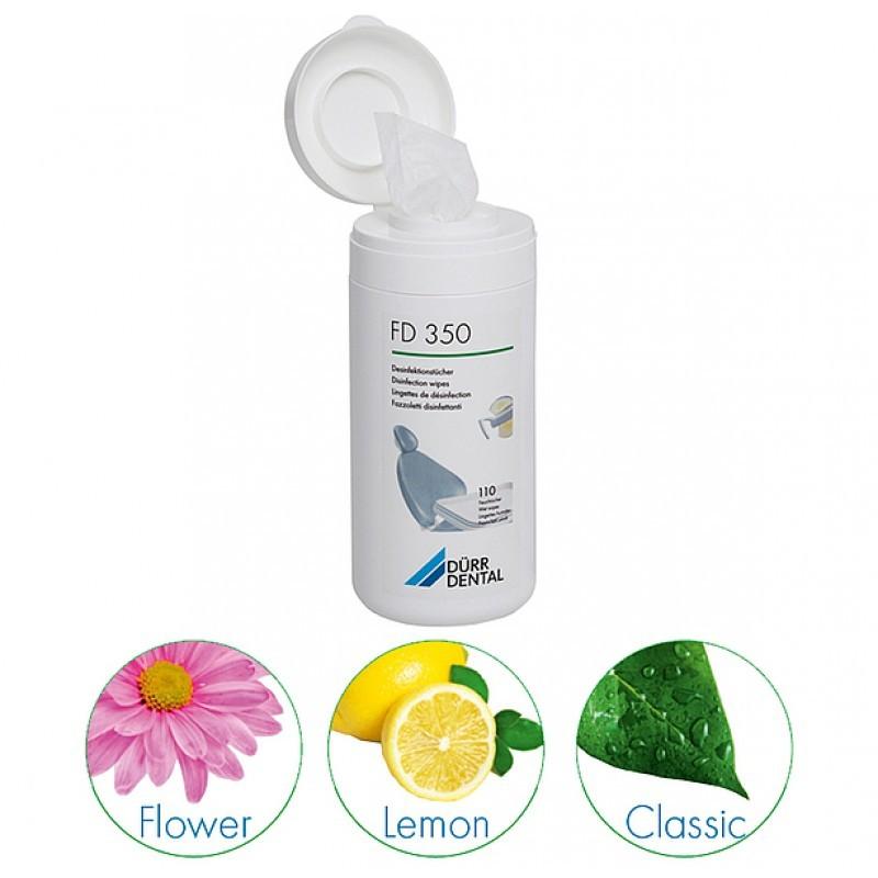 Салфетки для дезинфекции и очистки небольших поверхностей FD 350 (банка 110 шт.)