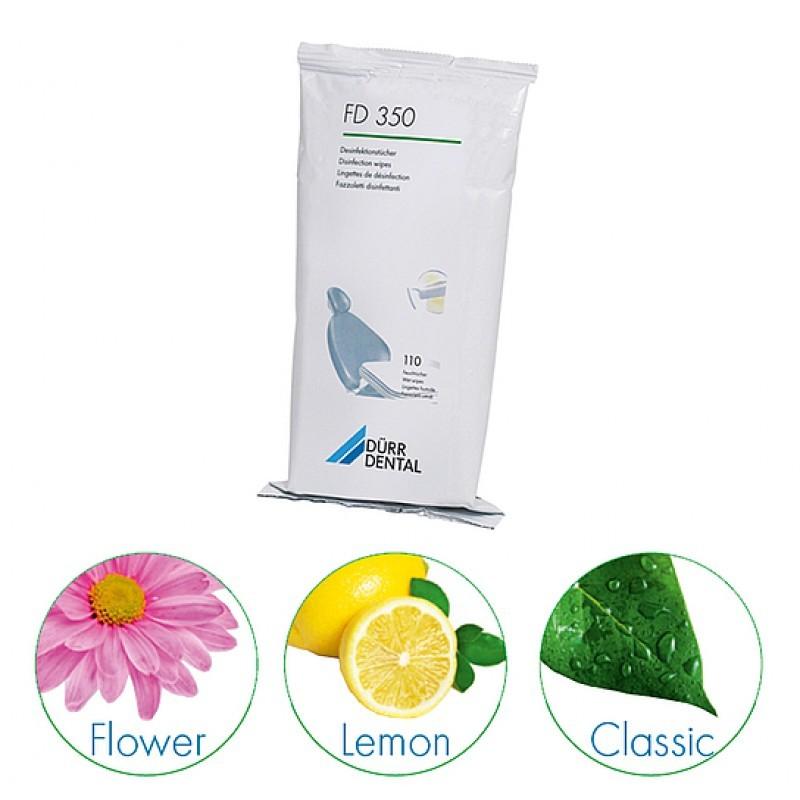 Салфетки для дезинфекции и очистки небольших поверхностей FD 350 (дополнительная упаковка 110 шт.)