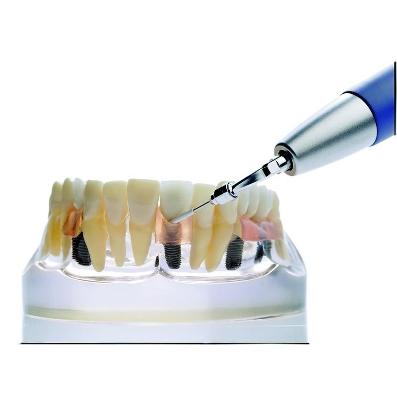 Насадки PI для очистки имплантантов и реставрационных материалов (4 шт.)