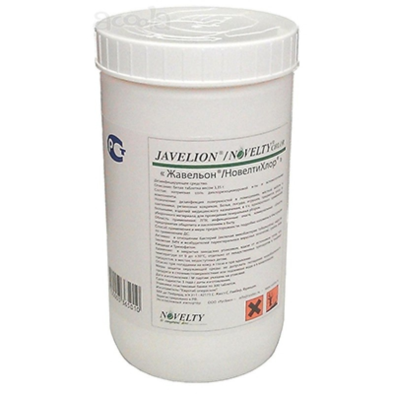 Таблетки дезинфицирующие для поверхностей Javelion/Novelty Chlor (300 шт.)