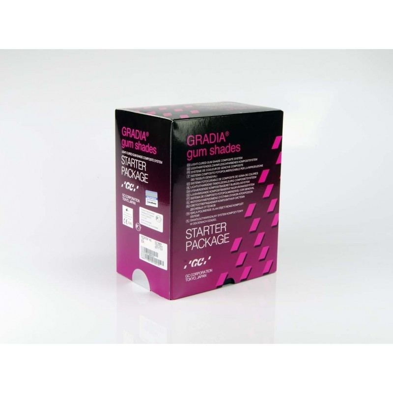 Система светоотверждаемая для имитации тканей десны GC Gradia gum shades Starter Package (набор)