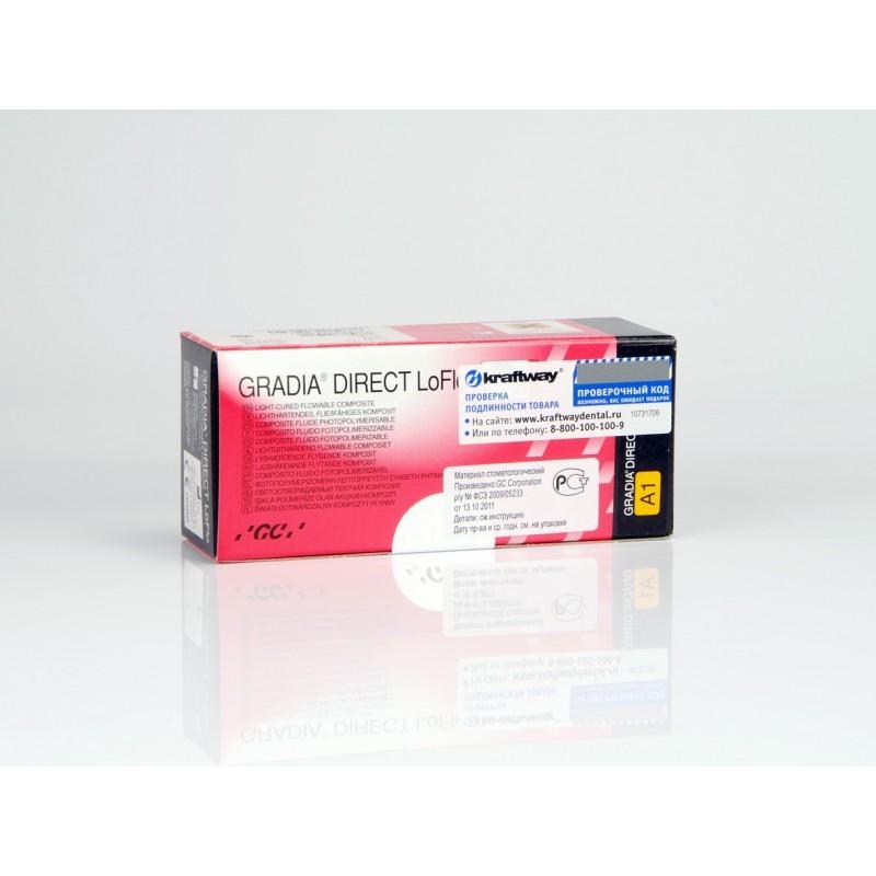 Композит светоотверждаемы микрофильный текучий GC Gradia Direct LoFlo (2 шприца)