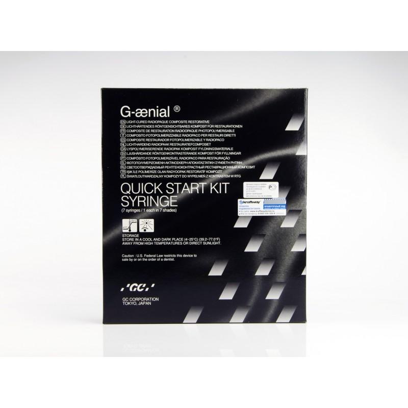 Композит светоотверждаемый реставрационный G-aenial Quick Start kit (набор)