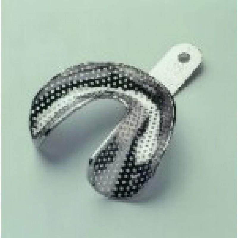 Ложки слепочные металлические с никелевым покрытием, при полной адентии GC Impression Tray Set (набор)