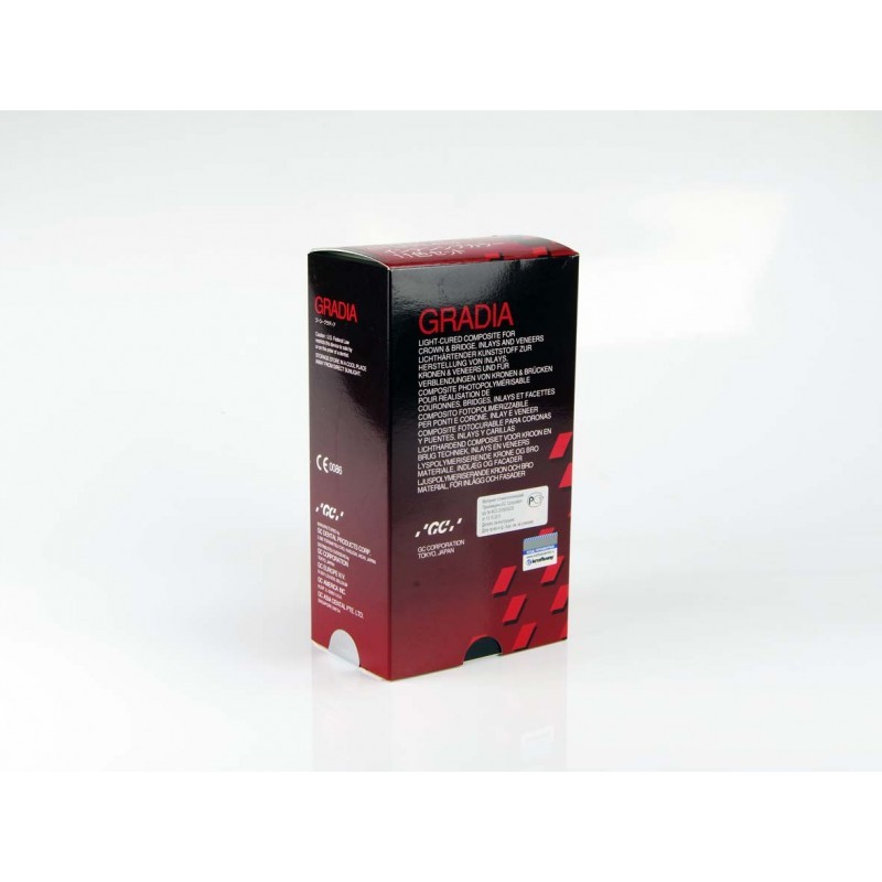 Материал композитный светоотверждаемый гибридный GC Gradia Intensive Color (набор)