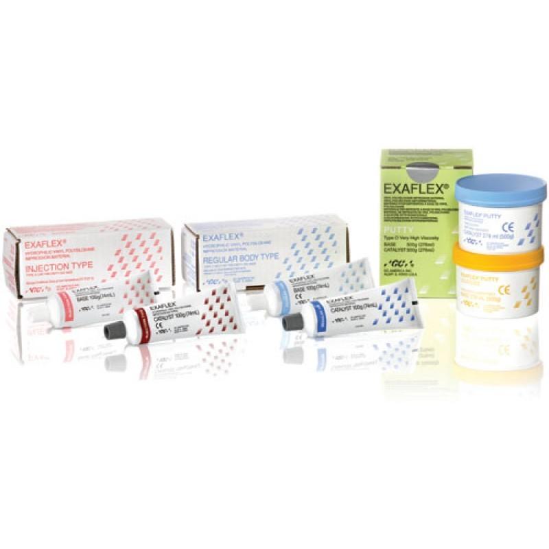 Материал слепочный А-силиконовый тиксотропный GC Exaflex Injection Type (набор)