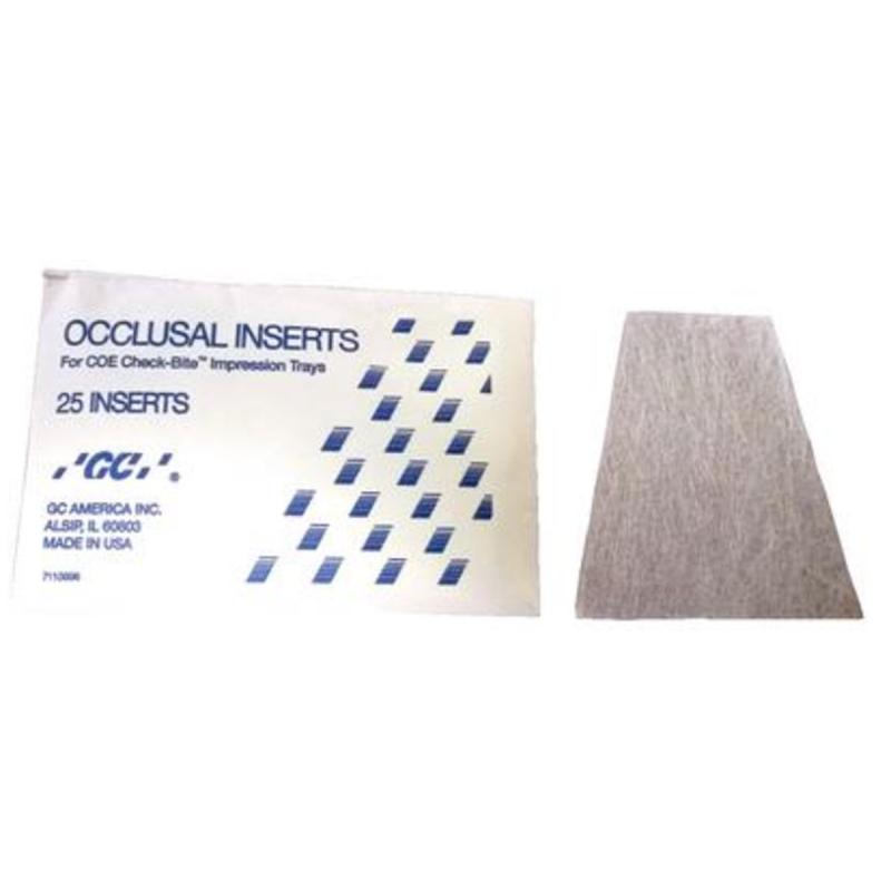 Мембраны для двойных слепочных ложек GC Occlusal Inserts (25 шт.)