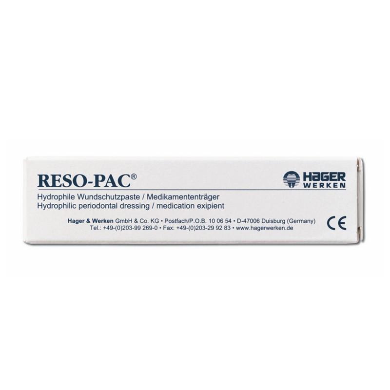 Повязка периодонтальная саморассасывающаяся для изоляции ран и стабилизации швов в полости рта Reso-Pac (25 г)