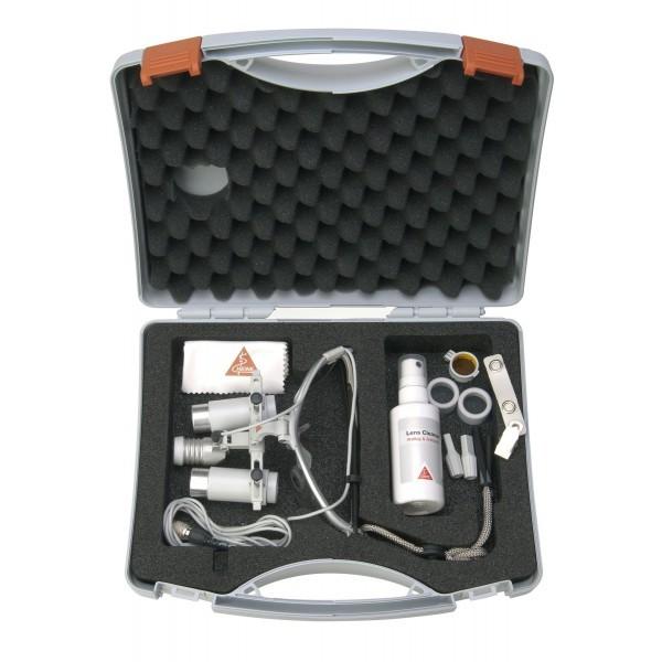 Heine HRP - бинокулярные лупы высокого разрешения с увеличением 3,5х, 4х и 6х и креплением i-View