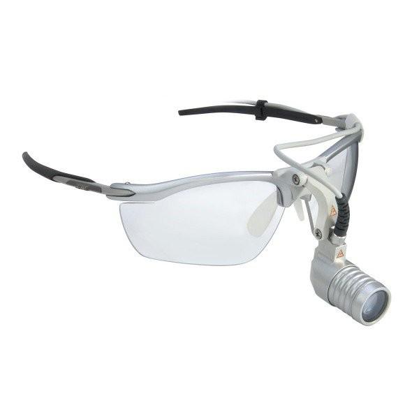 LED MicroLight - налобный светодиодный осветитель на оправе S-Frame