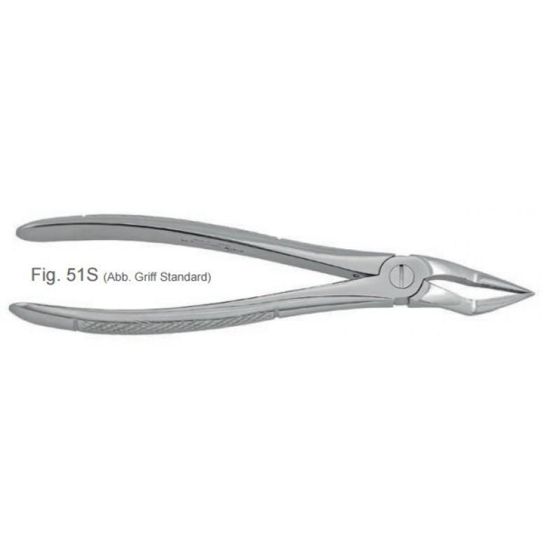 Щипцы для удаления детских верхних корневых зубов 51S