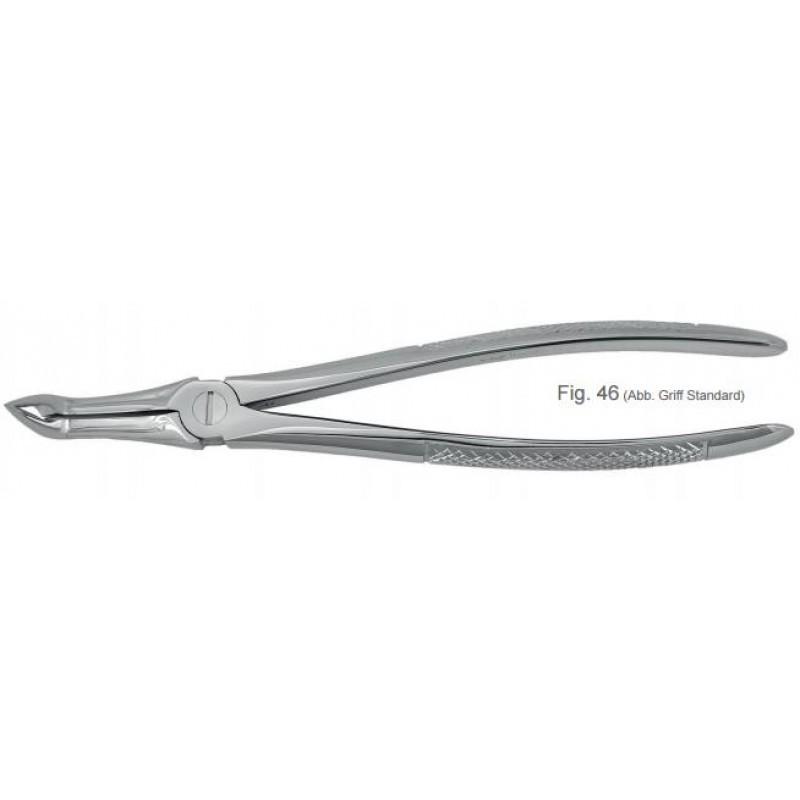 Щипцы ультратонкие для удаления корневых зубов 46