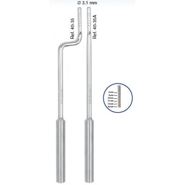 Остеотом bajonett, 3,1 мм