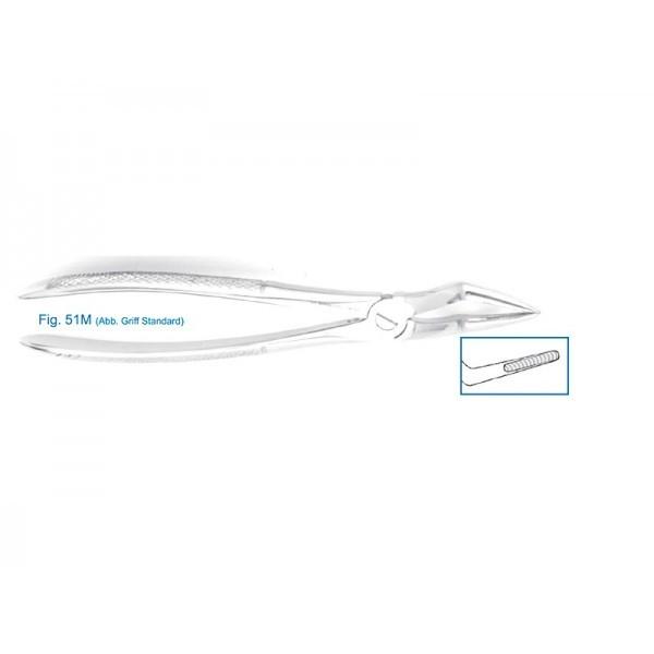 Щипцы для удаления зубов верхние, корневые