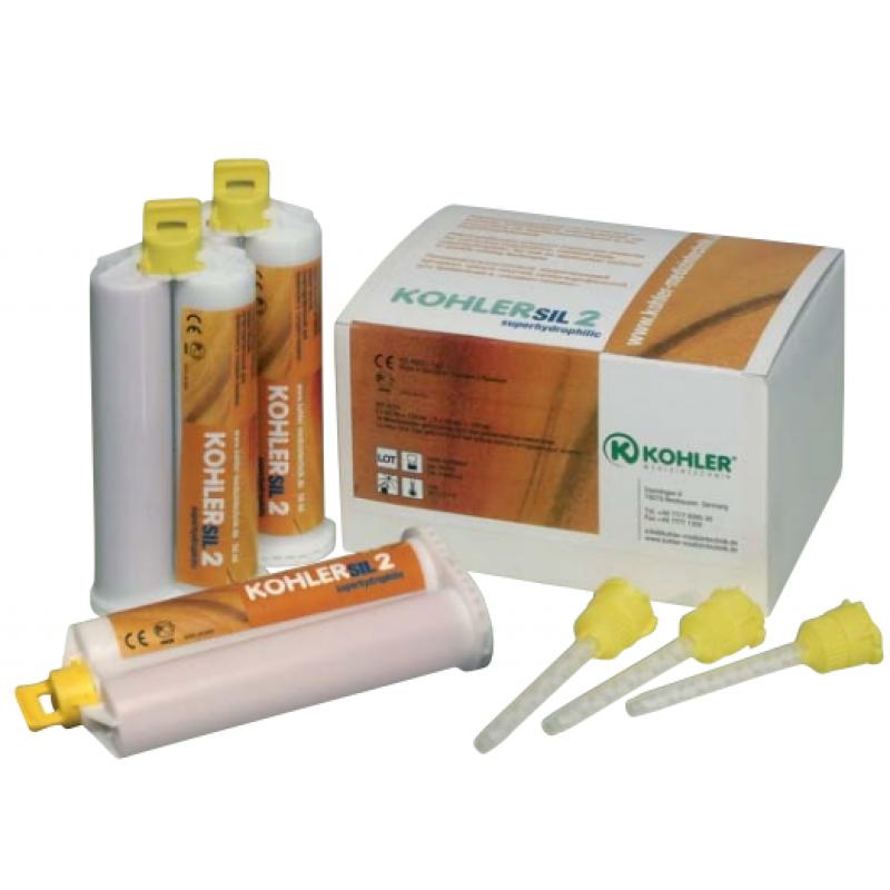 Материал корригирующий поливинилсилоксановый Kohlersil 4 (6 шт. по 50 мл)