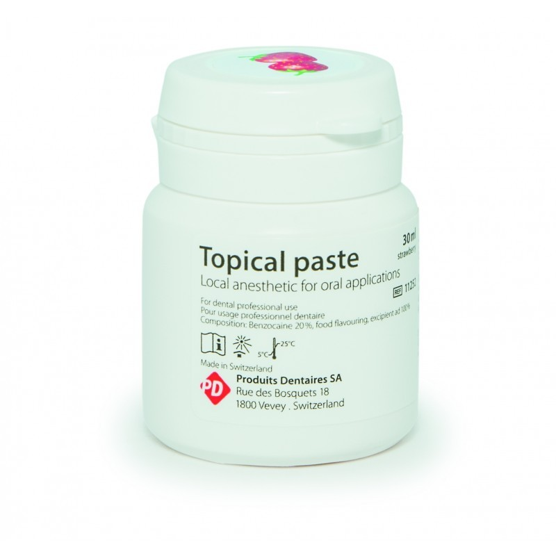 Паста для аппликационной анестезии слизистой ткани полости рта Topical paste (30 мл)