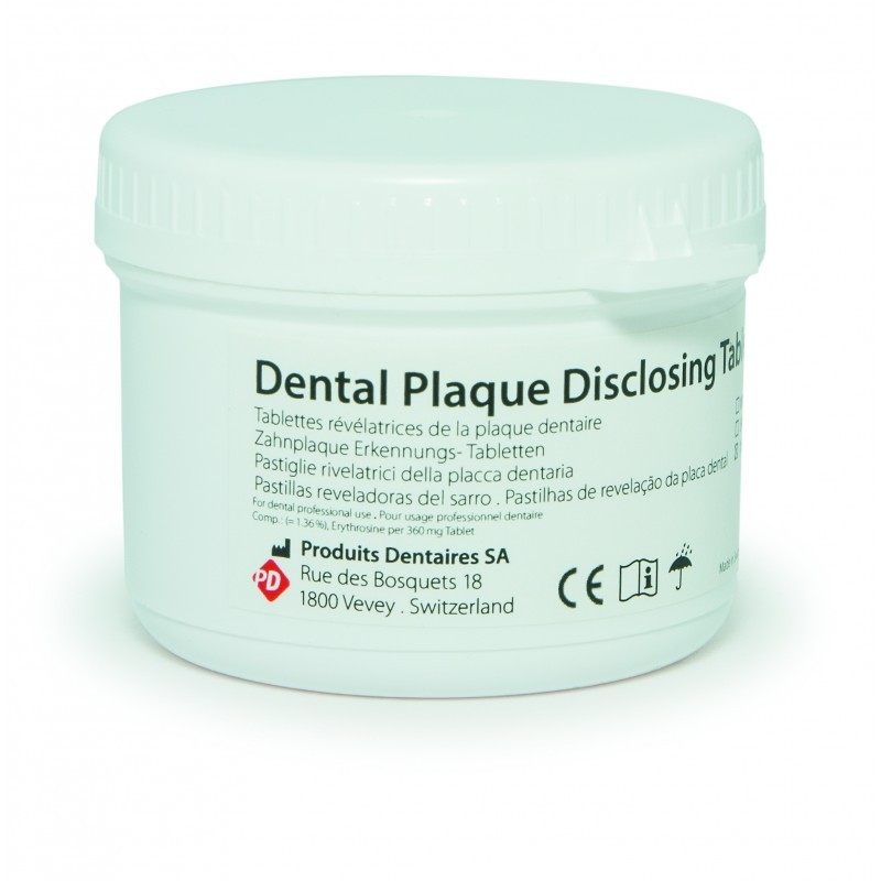 Таблетки для окрашивания зубного налета Disclosing tablets (100 шт.)