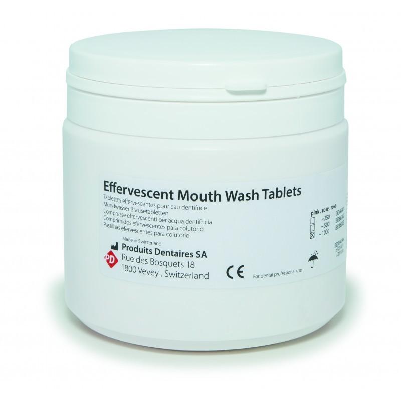 Таблетки шипучие для приготовления дезодорирующего раствора для полоскания рта Effervescent mouth wash tablets