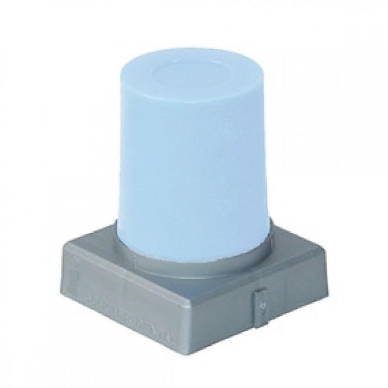 Воск моделировочный с малой усадкой для прессованной керамики S-U-Ceramo-Carving-Wax (голубой, конус 45 г)