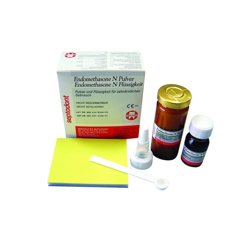 Силер для пломбирования корневых каналов Endomethasone N (14 г+10 мл)