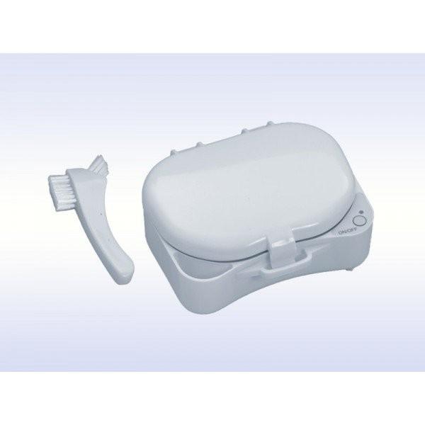 Denture Spa - ванночка для чистки съемных протезов c батареей и адаптером