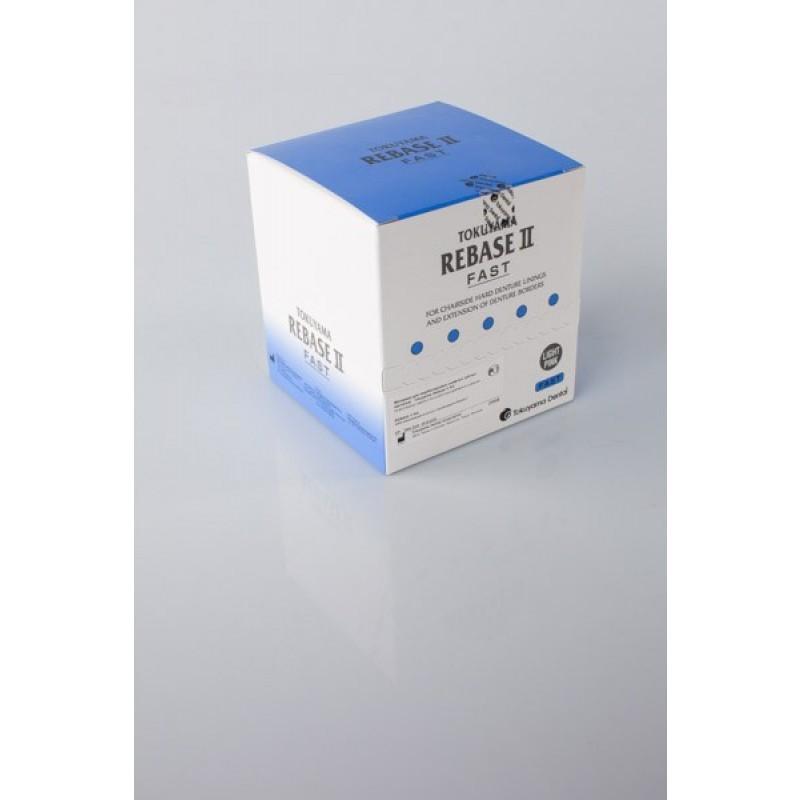 Материал для перебазировки съемных зубных протезов Rebase II (набор)