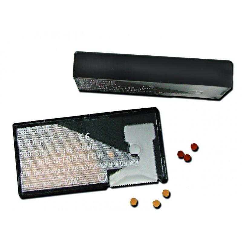 Стопперы силиконовые для безопасного контроля рабочей длины инструментов (200 шт.)