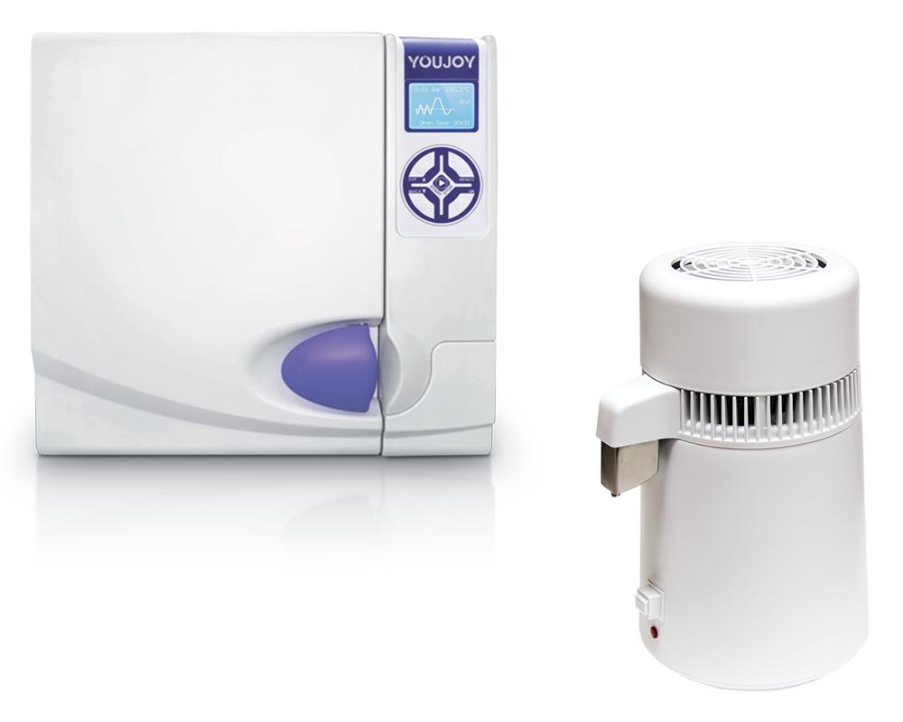 Комплект оборудования автоклав - BES-22L-B-LCD + дистиллятор - P&T Medical