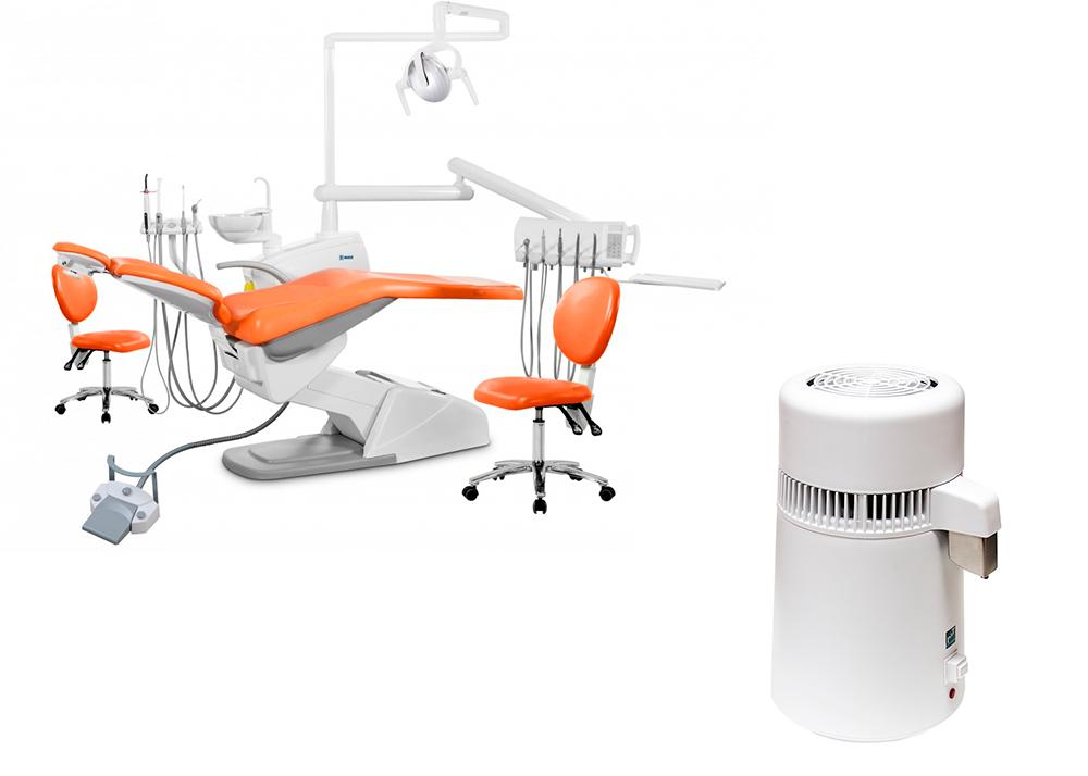 Комплект оборудования дистиллятор - P&T Medical + установка - U100