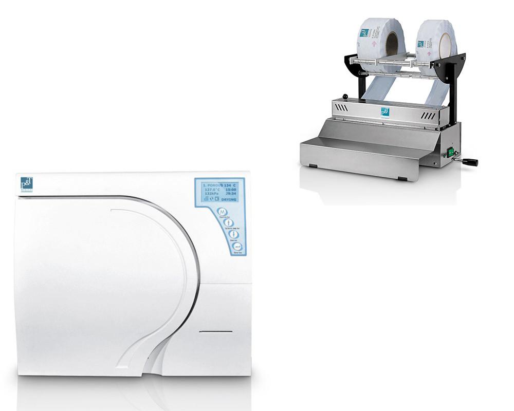 Комплект оборудования - Автоклав BTD17L-A + Упаковочная машина BTFJ-500 P&T Medical