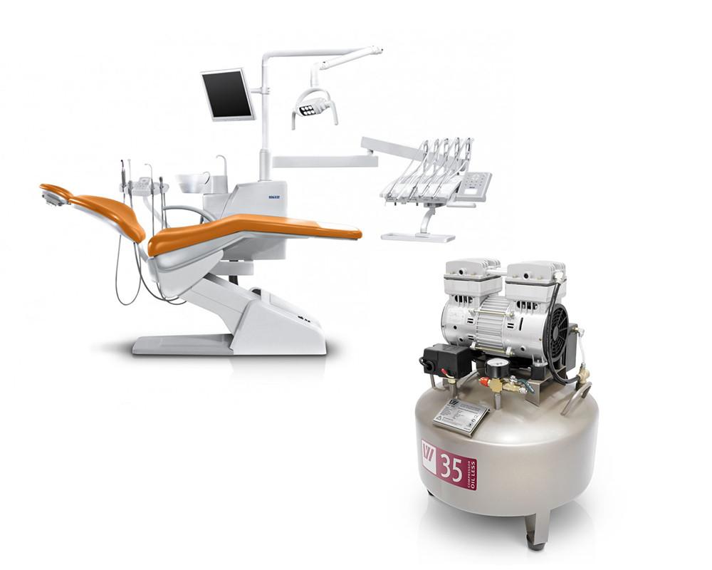 Комплект оборудования - Установка U200 верхняя подача + Компрессор W-602