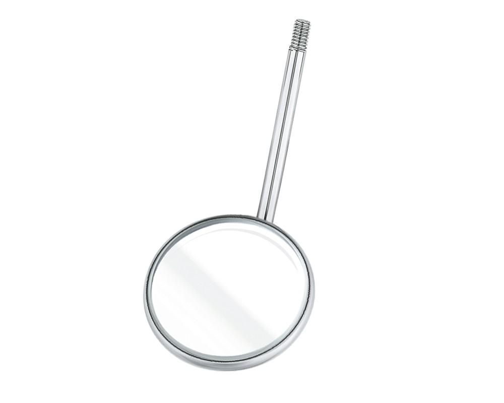 Стоматологический инструмент - Зеркало прямое размер #4, 22 мм (N2003-MH)