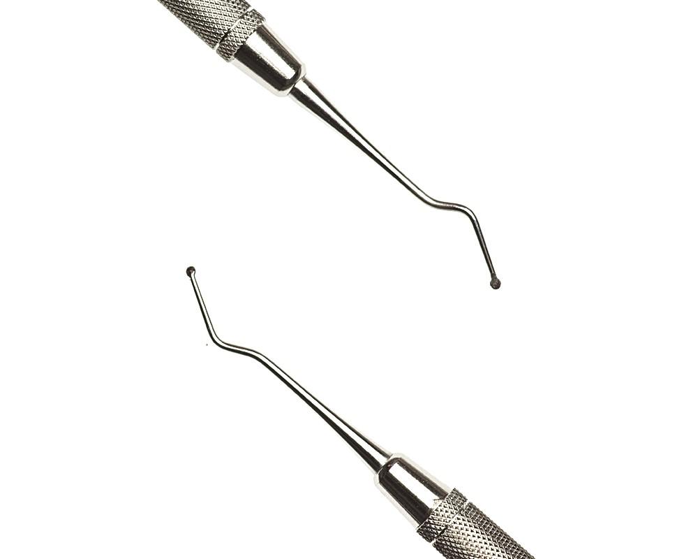 Стоматологический инструмент - Экскаватор 133-134 (N0165-H, N0145-O, N0119-R), Nova