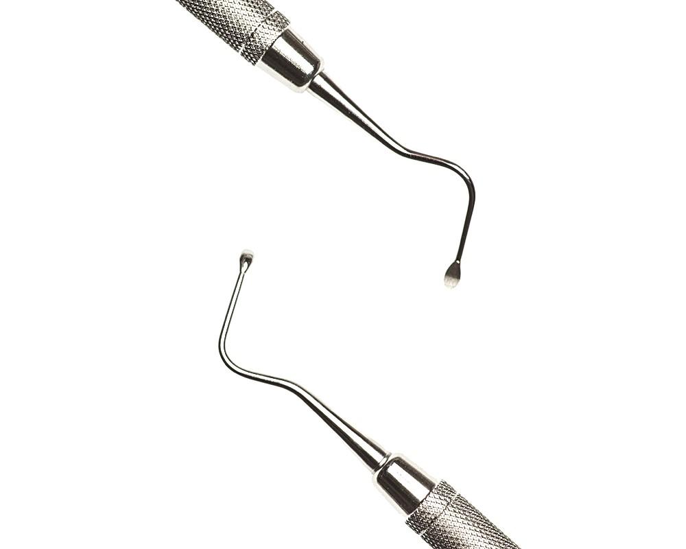 Стоматологический инструмент - Экскаватор Guys 3 (N1498-H, N1452-O, N1398-R), Nova