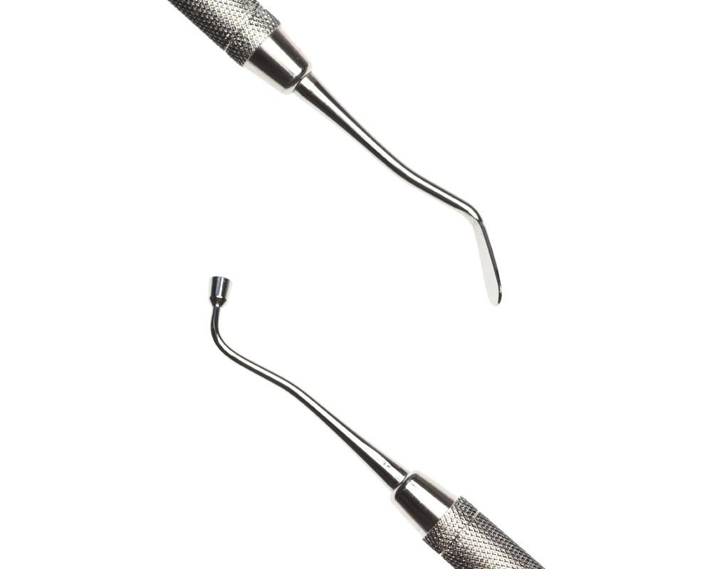 Стоматологический инструмент - Штопфер-Инструмент для работы с композитами Woodson 3 (N1236-H, N1214-O, N1193-R)