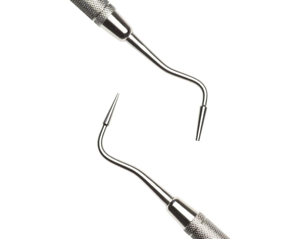 Стоматологический инструмент - Штопфер-Инструмент для работы с композитами Mortenson 2 (N0271-H, N0241-O, N0211-R)
