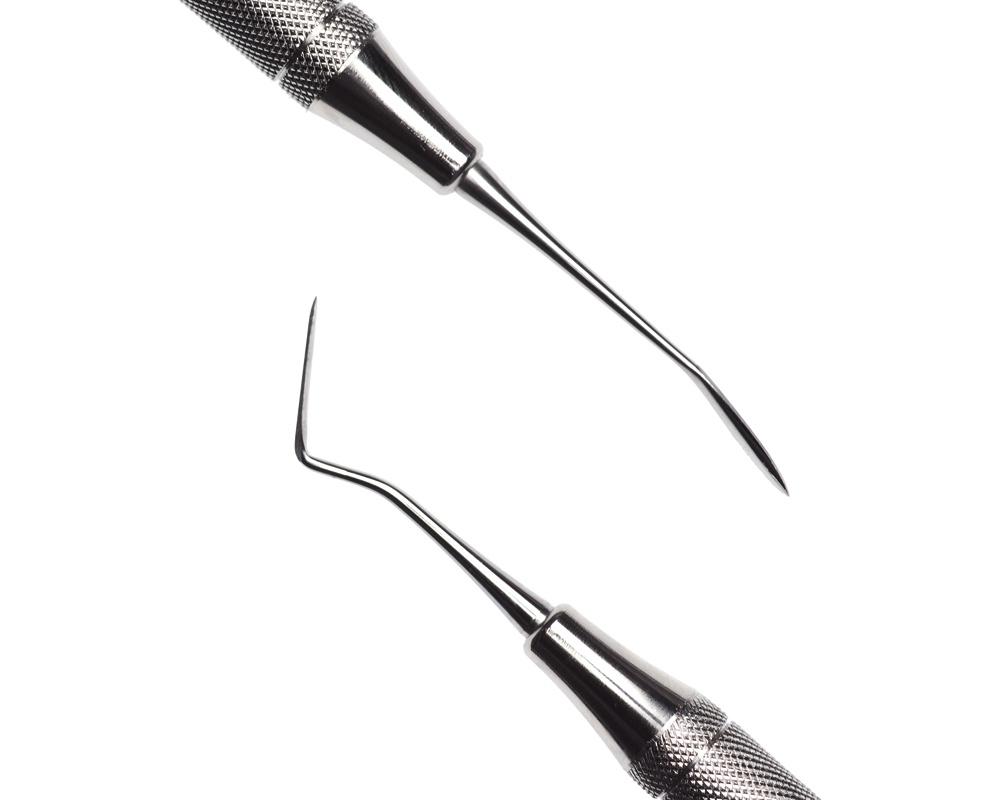 Стоматологический инструмент - Нож-гладилка Wards 1 (N0375-H, N0327-R)