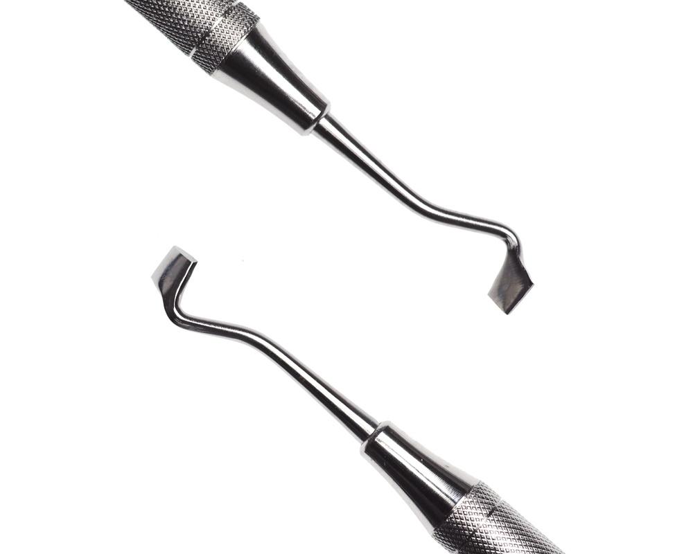 Стоматологический инструмент - Нож-гладилка Frahms Carver (N0381-H, N0361-O, N0335-R)