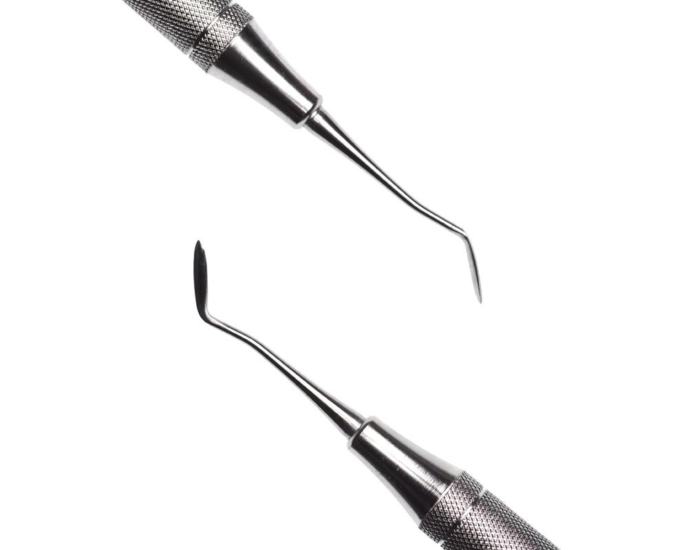 Стоматологический инструмент - Нож-гладилка Hollenbach 1/2 (N0383-H, N1518-O, N0337-R)