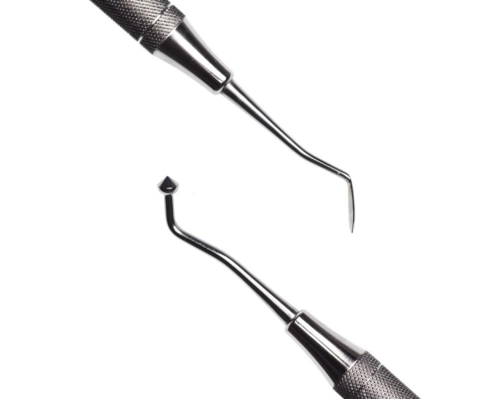 Стоматологический инструмент - Нож-гладилка Shofu 13 (N1536-H, N1526-O, N1508-R)