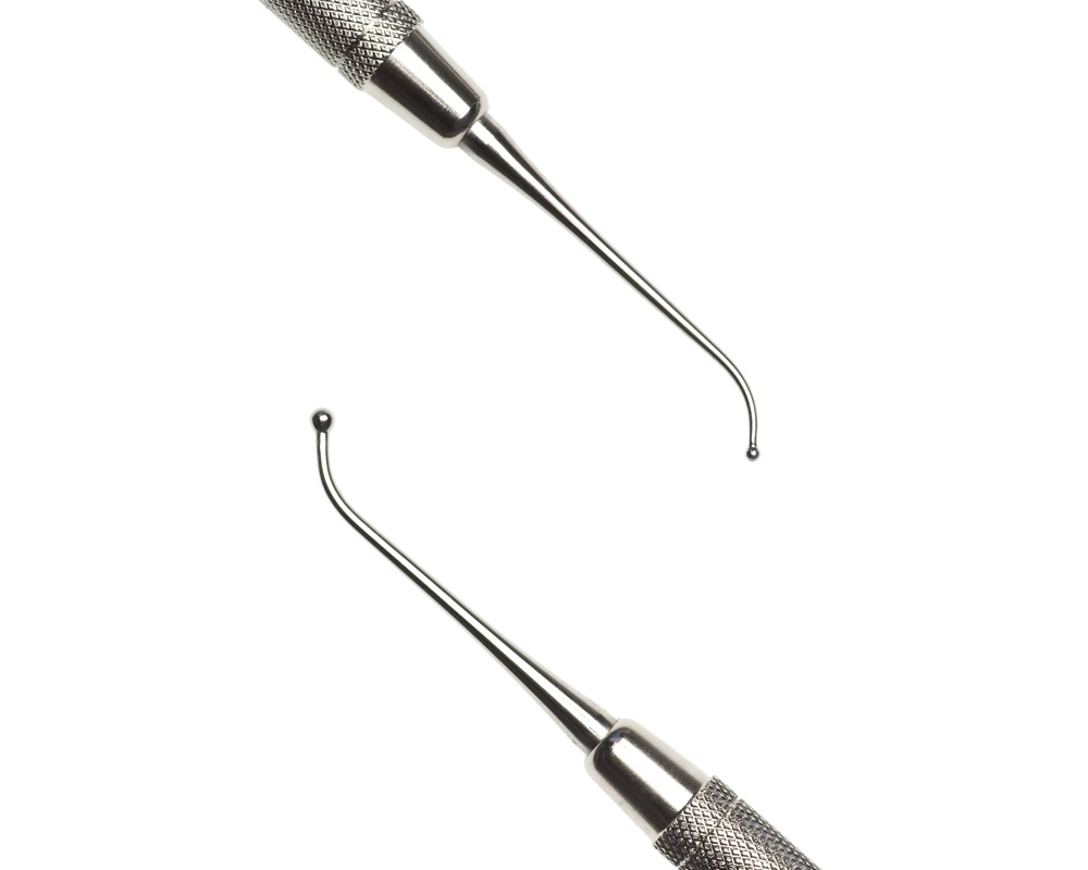 Стоматологический инструмент - Штопфер-Барнишер 1 (N0427-H, N0413-O, N0395-R)