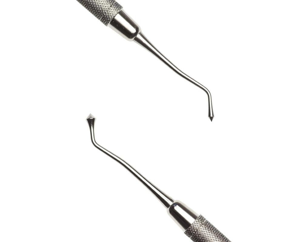 Стоматологический инструмент - Штопфер-Барнишер 21 (N0431-H, N0417-O, N0399-R)