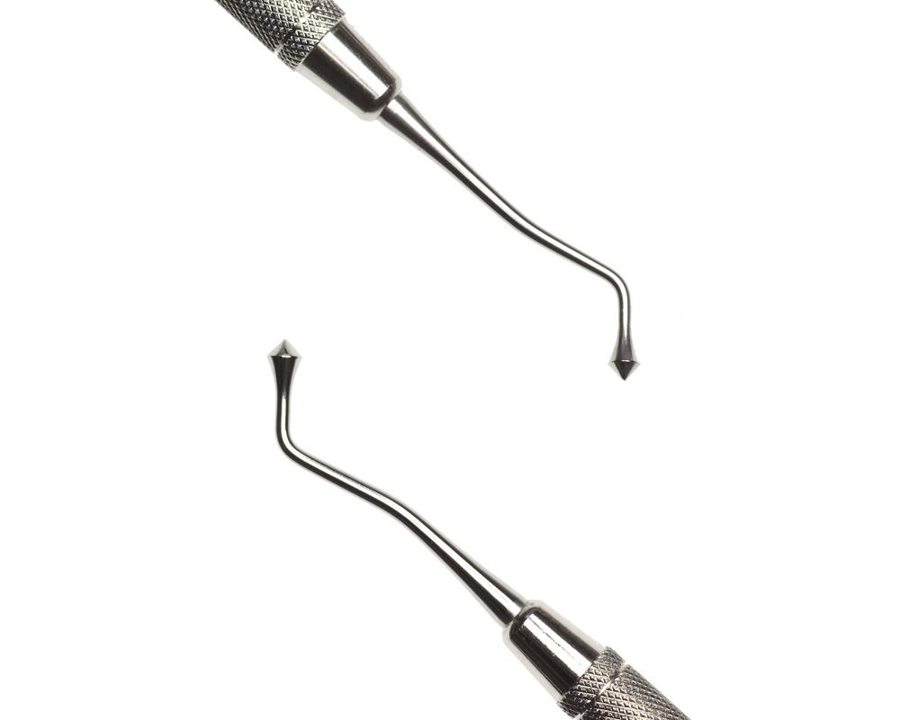 Стоматологический инструмент - Штопфер-Барнишер 21B (N0433-H, N0419-O, N0401-R)
